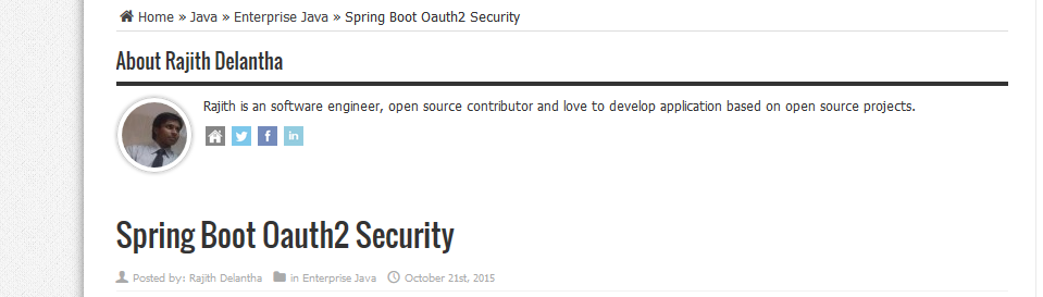 OKKY - spring boot oaauth2 0 (링크 정리 공유)